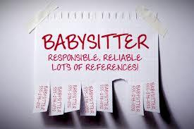 babysitter listing